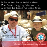 For Jack, Hugging His Son is a Dream…