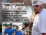 In Loving Memory of Tray Kemp. Click Here to Make a Donation.