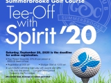 1st Annual Tee-Off with Spirit – BUY NOW!